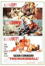 007 James Bond: Yıldırım Harekatı (1965) afişi