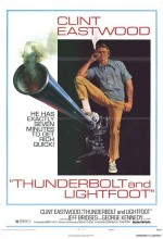 Thunderbolt Ve Lightfoot (1974) afişi