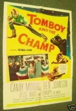 Tomboy And The Champ (1961) afişi