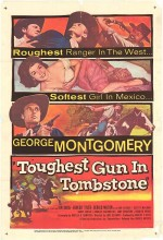 Tombstone'da Bir Silahşor (1958) afişi