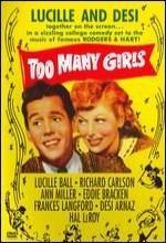 Too Many Girls (1940) afişi