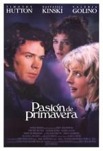 Torrents Of Spring (1989) afişi
