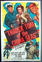 Trader Tom Of The China Seas (1954) afişi