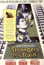 Trendeki Yabancı (1951) afişi