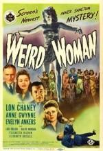 Tuhaf Kadın (1944) afişi