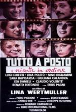 Tutto A Posto E Niente In Ordine (1974) afişi