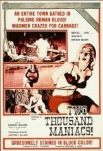 Two Thousand Maniacs! (1964) afişi