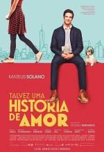 Talvez Uma História de Amor (2018) afişi