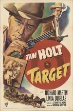 Target (1952) afişi