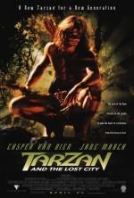 Tarzan Kayıp Şehir (1998) afişi