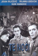 Te noci (1958) afişi