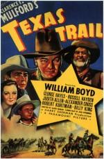 Texas Trail (1937) afişi