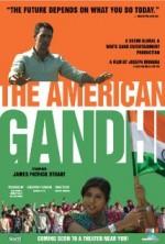 The American Gandhi (2013) afişi