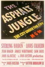 The Asphalt Jungle (1950) afişi
