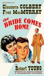 The Bride Comes Home (1935) afişi