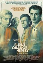 The Burnt Orange Heresy (2019) afişi