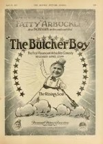 The Butcher Boy (1917) afişi