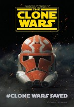 Star Wars: The Clone Wars (2018) afişi