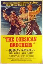 The Corsican Brothers (1941) afişi
