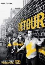 The Detour (2016) afişi