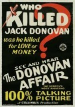 The Donovan Affair (1929) afişi
