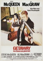 The Getaway (1972) afişi