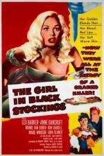 The Girl In Black Stockings (1957) afişi