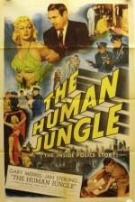 The Human Jungle (1954) afişi