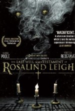 The Last Will and Testament of Rosalind Leigh (2012) afişi