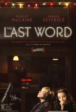 The Last Word (2017) afişi