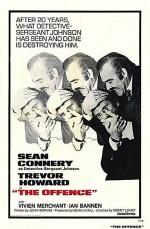 The Offence (1973) afişi