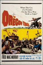 The Oregon Trail (1959) afişi