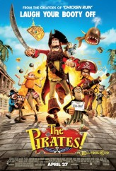 The Pirates! Band Of Misfits. (2012) afişi