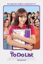 The To Do List (2013) afişi