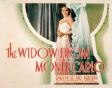 The Widow from Monte Carlo (1935) afişi