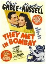 They Met In Bombay (1941) afişi