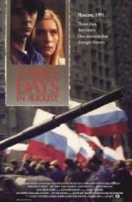 Three Days In August (1992) afişi