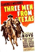 Three Men From Texas (1940) afişi