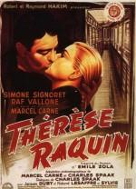 Thérèse Raquin (1953) afişi