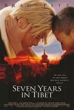 Tibet'te Yedi Yıl (1997) afişi