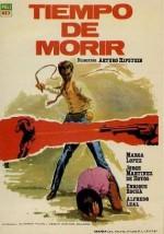 Tiempo De Morir (1966) afişi