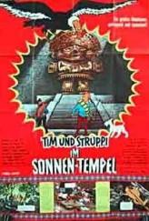 Tintin et le temple du soleil (1969) afişi