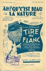 Tire au flanc (1933) afişi