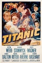 Titanic (1953) afişi