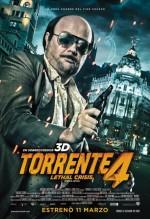Torrente Lethal Crisis (2011) afişi