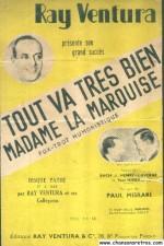 Tout va très bien madame la marquise (1936) afişi