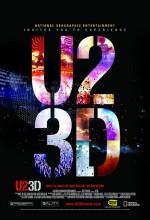 U2 3D (2007) afişi