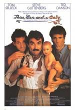 Üç Adam Ve Bir Bebek (1987) afişi