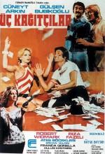 Üç Kağıtçılar (1975) afişi