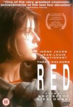 Üç Renk: Kırmızı (1994) afişi